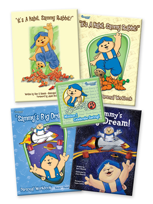 Sammy Rabbit Book and Music CD Pack